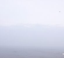 North Sea - In Mist - ( East Coast - England ) by Carl Gaynor