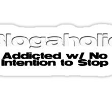 Blogaholic Sticker