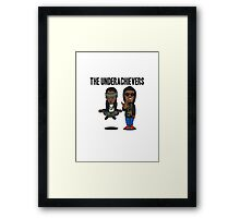 The Underachievers cartoon   Framed Print