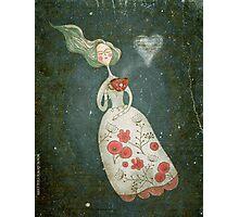 I heart tea Photographic Print