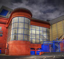 Ibrox Stadium by Mark Andrew Turner