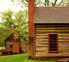 Old Quaker Houses by Harlan Mayor