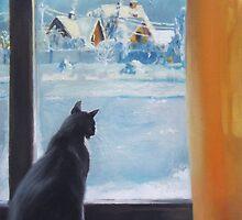 Winter afternoon by Monika Malinowska