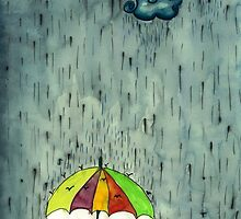 Oh! Raining Night by missbanana