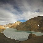 Lake Yamdrok-Tso, Tibet by Hugh Chaffey-Millar