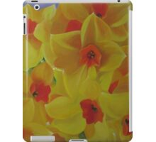 Spring Fever Year-Round, Narcissus iPad Case/Skin
