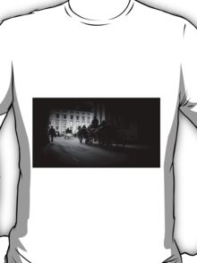 Horse-drawn carriage in Vienna, Austria T-Shirt