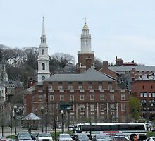 Toward the East Side of Providence by Jack McCabe