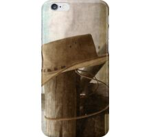 Traces Of A Cowboy... Free State, South Africa iPhone Case/Skin