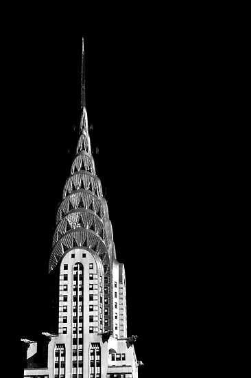 The Chrysler Building by Roberts Birze