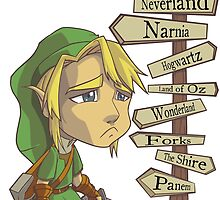 But Where's Hyrule? by masciajames