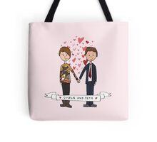 Seth & Stefon Tote Bag