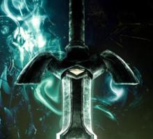The legend of Zelda - Link sword Excalibur Sticker