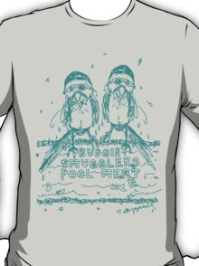 'Budgie Smugglers Pool Meet' T-Shirt