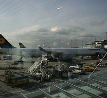 Frankfurt Flughafen by John Michael Sudol