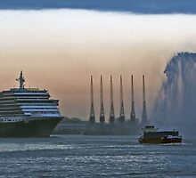 ms Queen Victoria - Maiden Voyage 2 by Martijn Budding