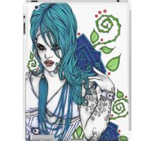 In Blue iPad Case/Skin