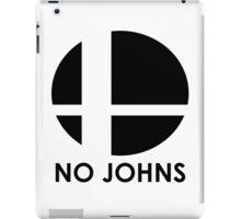No Johns  iPad Case/Skin