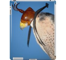 A Falcon With a Cap on its Head iPad Case/Skin
