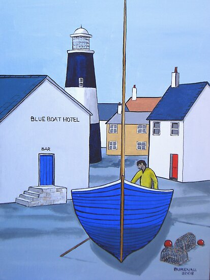 Blue Boat Hotel by bursnall