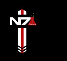 N 7 Nitrogen Effect by CRDesigns