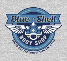 Blue Shell Auto Body T-Shirt