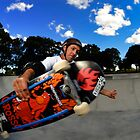 Frontside Air by Bill Fonseca
