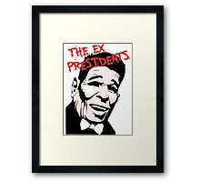 Point Break - The Ex Presidents  Framed Print