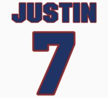 Basketball player Justin Hamilton jersey 7 by imsport