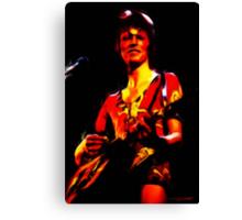 David Bowie - Ziggy Stardust - Digital Painting Canvas Print