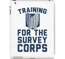 Training For the Survey Corps iPad Case/Skin