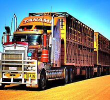 Road Train by Kelvin  Wong