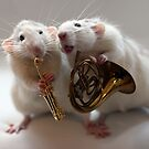 Two little musical brothers. by Ellen van Deelen