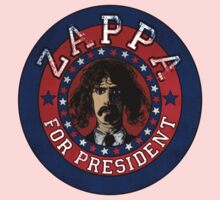 Frank Zappa for President Kids Clothes