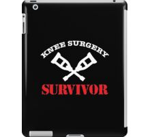 Cool 'Knee Surgery Survivor' Recovery T-Shirt and Gifts iPad Case/Skin