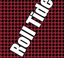 houndstooth, Alabama, Roll Tide by goodedesign