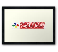 Now You're Playing with Power- Framed Print