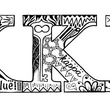 Kappa Kappa Gamma Letters by asaks5th