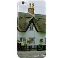 Thatched Cottages In Repton iPhone Case/Skin