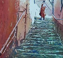 Village Stairs by JennyArmitage