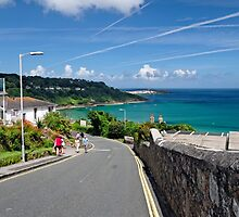 The Approach to the Beach, Carbis Bay by Rod Johnson