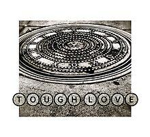 TOUGH LOVE - MANHOLE COVER by Paul Kalbfleisch