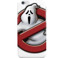 Scream / Ghostbusters Parody  iPhone Case/Skin