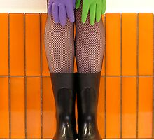 wellies and wubber gloves one by Soxy Fleming