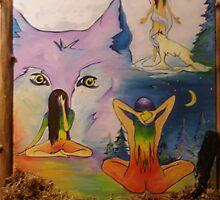 Sitting Vision by Pallah