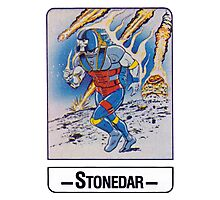 He-Man - Stonedar - Trading Card Design Photographic Print