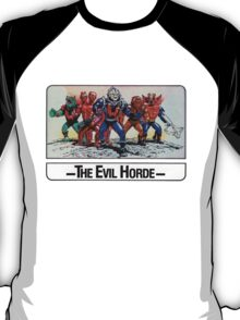 He-Man - The Evil Horde - Trading Card Design T-Shirt