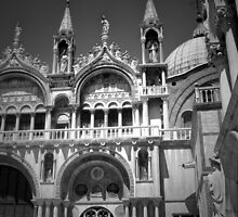 St Marks Square in BW by ArtistryBySonia