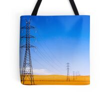 Power Lines at Clare Tote Bag