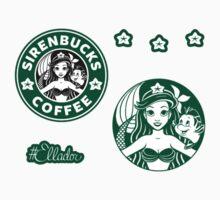Sirenbucks Mini Sticker Pack by Ellador